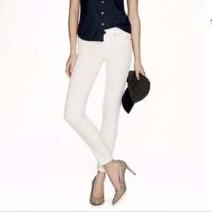 J.Crew Toothpick 36 Ankle White Jeans